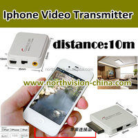 wireless video transmitter for Iphone, from mobile phone to TV by wireless
