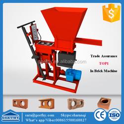 Eco brava soil cement block making machine/ ecological brick machine soil cement