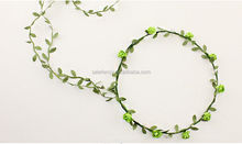 Daisy flower crown headband for girls wholesale QFHD-2012