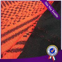 Dress fabric supplier New style Design Elegant poly wool jacquard fabric