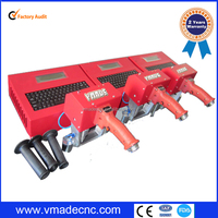 Automatic nameplate / sign / serial number / vin number 3d model tag portable dot peen marking machine for plate / stainless