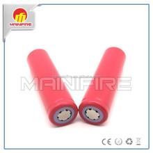 High capacity 18650 sanyo battery 3.7v sanyo ur18650zy 2600mah li-polymer battery