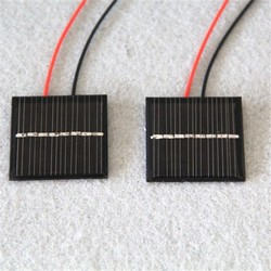 15*15mm 0.5V 50mA mini epoxy solar panel for led light