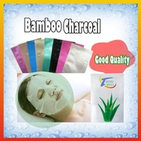 Face mask bamboo charcoal cosmetics natural of facial mask