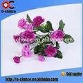 chegada nova atacado flores artificiais de seda cravo para a venda