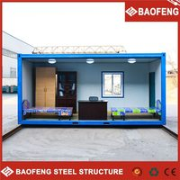 prefab luxury economic modular container hydraulic shipping container