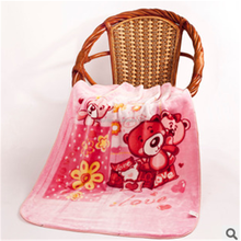 2015 spring hot sale 100% polyester baby blankets