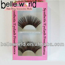 eyelash box packaging 2013 popular custom design 100% hand