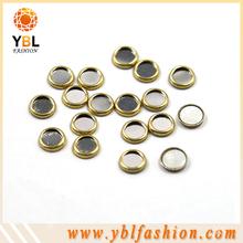 Cerchio epossidica correzione borchie, cerchio strass nuovo materiale del ferro sui vestiti