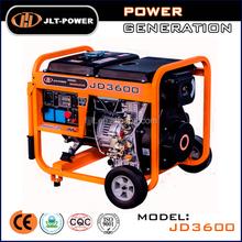 Diesel Portable generator diesel 3kw with low factory price from JLT POWER
