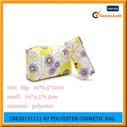 One Set Makeup Bag Three Piece For Promotional Fashion Cosmetic Bag