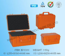 IP68 plastic equipment case/ handgun case/ tool box