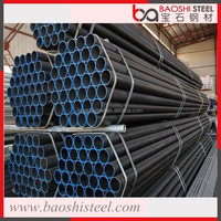 Hollow Iron Pipe Welded Black Steel Pipe Galvanized Round Tube