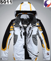 Winter sport coat waterproof breathable outdoor name brand mens ski jacket S11