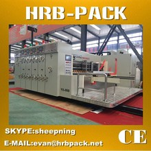 HRB-PACK FULLY AUTOMATIC FLEXO CARTON BOX PRINTING SLOTTING DIE CUTTING MACHINE