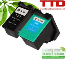 TTD Original Refurbished Ink Cartridge C8766H C8767H for HP 130 135 cartridge