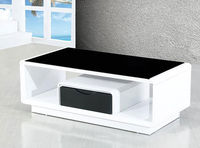 perspex coffee table design