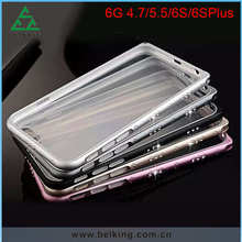 Hybrid Shinny Frame For iPhone 6S Ultra Thin TPU Scratch Proof Phone Case