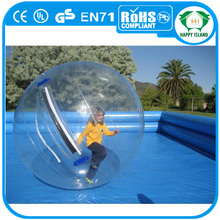 Crazy sale 1.8m/2m/2.5m/3m PVC/TPU water ball,water walking ball,big water ball inflatable