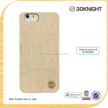 Handmade plastic bamboo wood cell phone case for iPhone mobile case