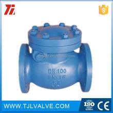 pn10/pn16 ci/di pvc swing check valve good quality