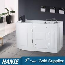 Hs-b1106 vasche da bagno di piccole dimensioni con sede bagno e doccia combinazioni vasca da bagno per disabili