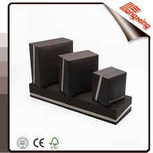 bevel jewelry box printted dark color