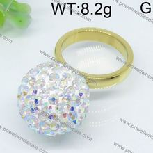 Excellent quality gold ring matte finish jewelry fashion jewelry