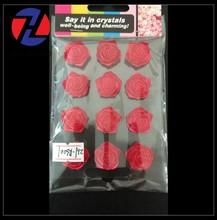 2015 New Arrived red rose design decorative make elegant small sticker sheet