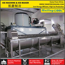 10000kg/day large flake ice machine for sale,Bitzer compressor