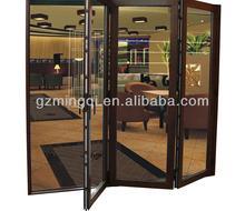 automatic sliding plastic double pane sliding glass house double doors design
