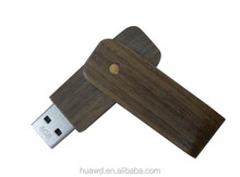eco-friendly elegant wood usb flash drives swivel usb flash data saving flash memory drives sticks