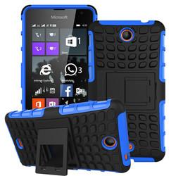 Roiskin wholesale hybrid case for Microsoft lumia 430, stand case for Lumia 430