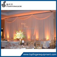 TFR 2012 special offer Church Wedding Aluminum Pipe And Drape With Sheer Voile Backdrops