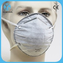 N95 face mask non woven dust active carbon face mask