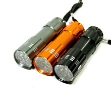 9 LED Flashlight torch