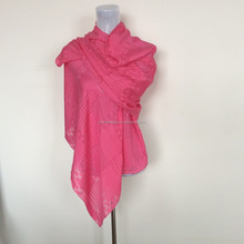 hand rolled hem silk scarf for DIY painting
