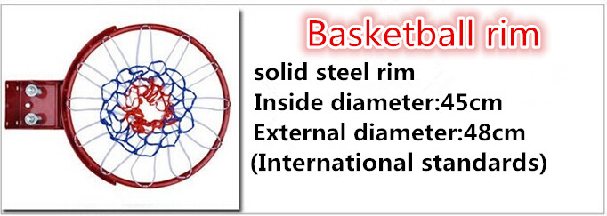 portable adjustable basketball stand with basketball poles and fiberglass basketball backboard