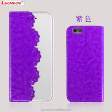 Crystal Leather Mobile Phone Case for Apple 6