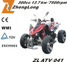 2014 New design the European EEC certification Quad ATV with 300CC