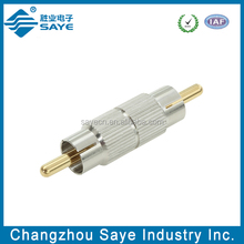 rf connector RCA male to RCA Male adaptor