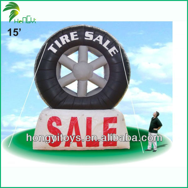 China Manufacture Top Sale Advertising Inflatable Tire