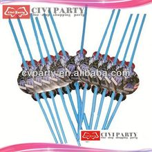 Hot Sale Decorative Fancy Drinking Straw Paper Party Straw gn food pans