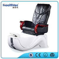 elegant modern pedicure spa chair with drain pump