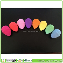 offer all kinds of different shape latex and latex free cosmetic makeup sponge