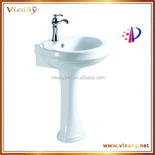 Two piece bathroom sink sanitary ware made in china unique items