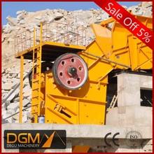 Good performance crusher jaw crusher & screening plant for breaking ore
