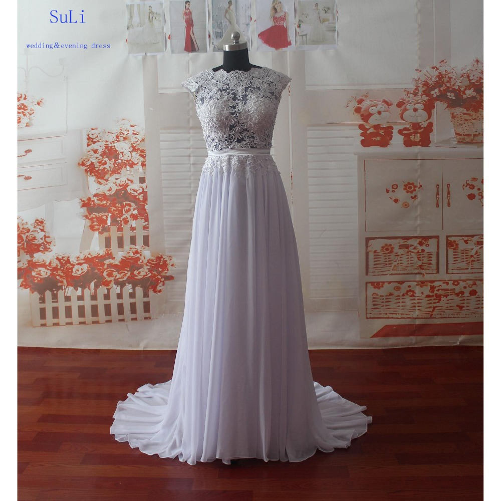 Wholesale sg53 beach wedding dresses sheer backless for Backless beach wedding dresses