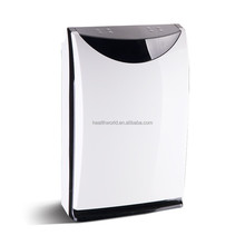 Home use water air purifier with humidifying function