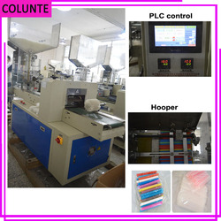 Drinking straw production line Drinking straw packing machine
